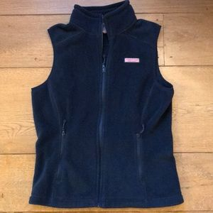 Vineyard Vines Women's Fleece Vest.